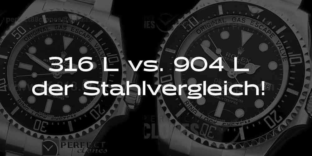 316 L gegen 904 L das Stahlduell