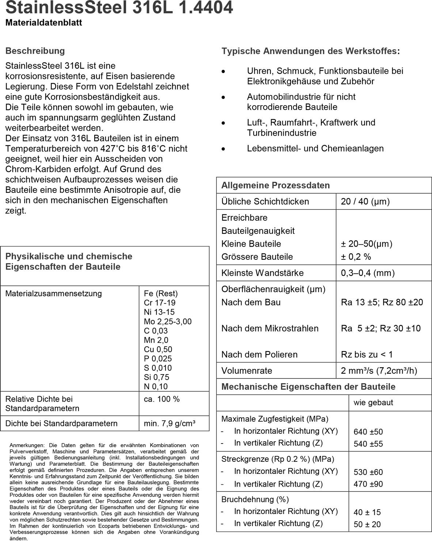Datenblatt-316L