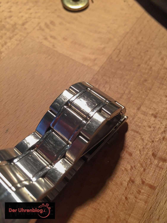 Seiko Armband vorher