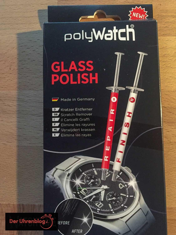 PolyWatch Glas Politur