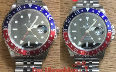 Rolex GMT Master – Gen vs. Rep