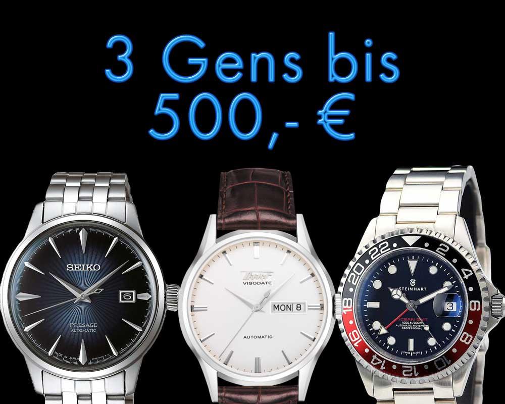 Gens bis 500,- Euro Teil 1
