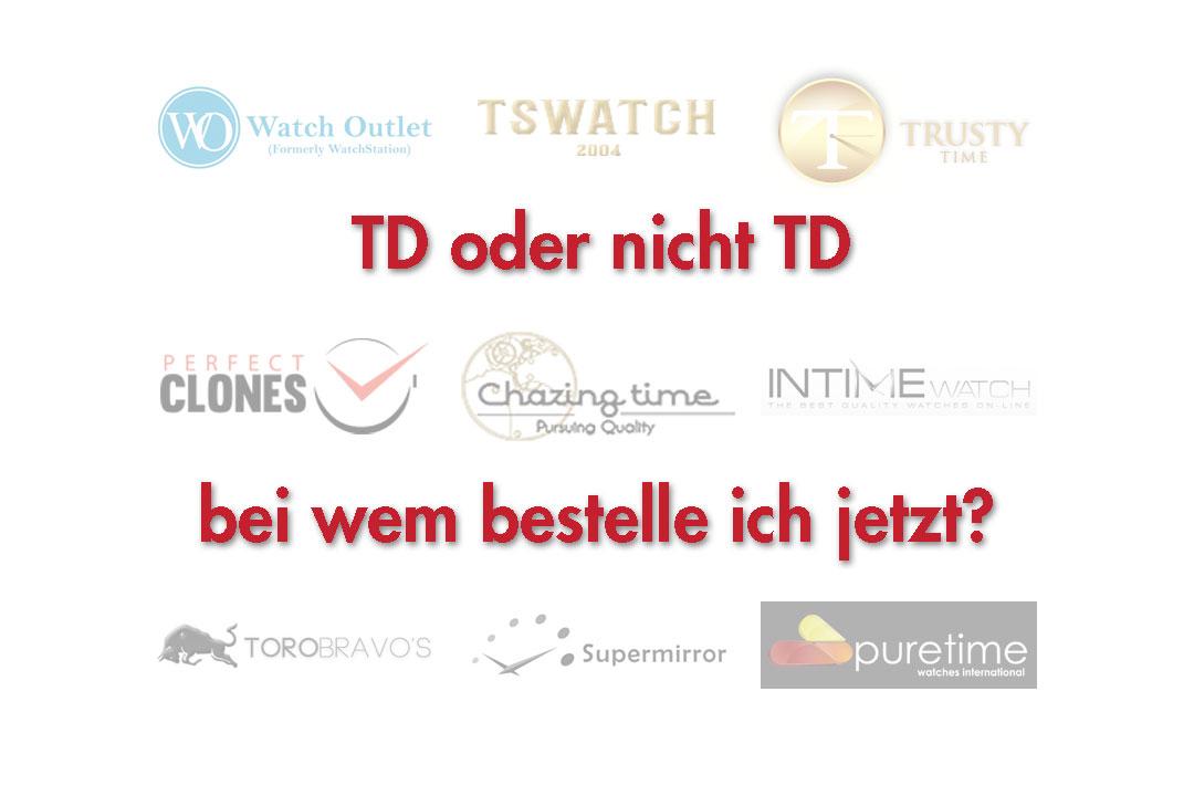 TD oder nicht TD – das ist hier die Frage