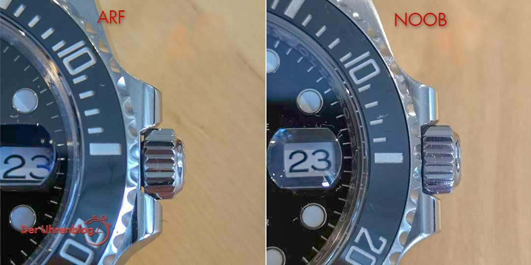 Rolex Submariner – ARF vs NOOB   Der Uhrenblog