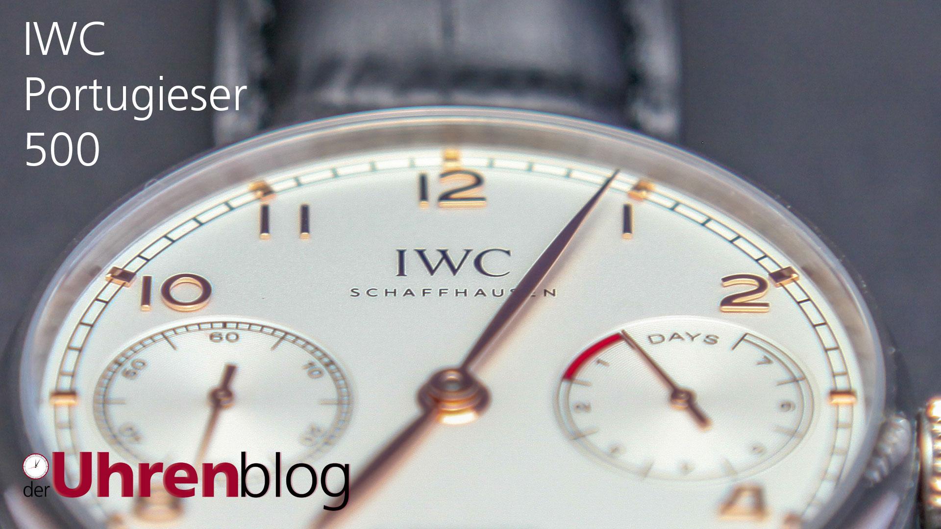 IWC Portugieser 500 von ZF