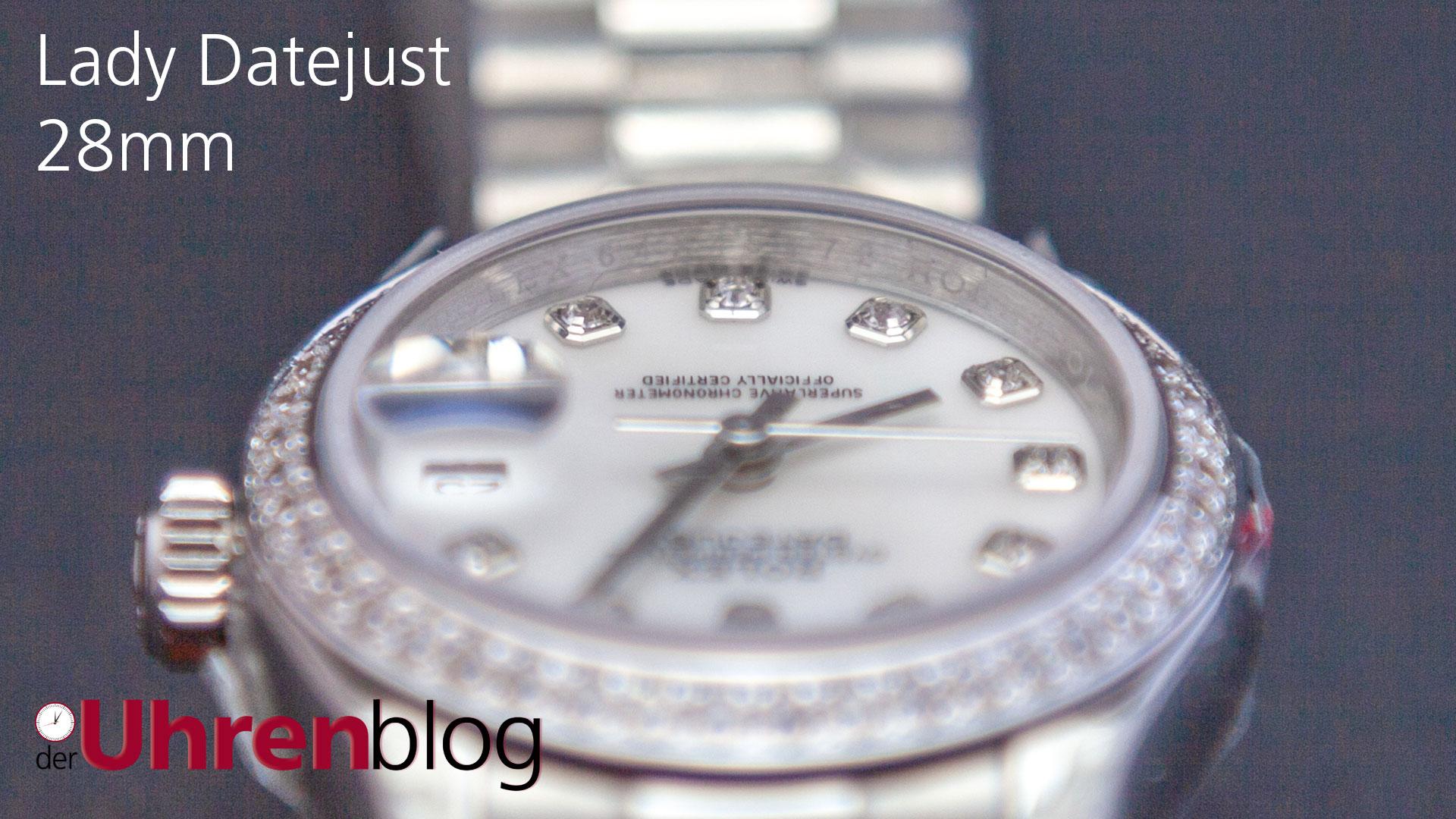 Rolex Lady Datejust 28mm mit Diamond Bezel von BP