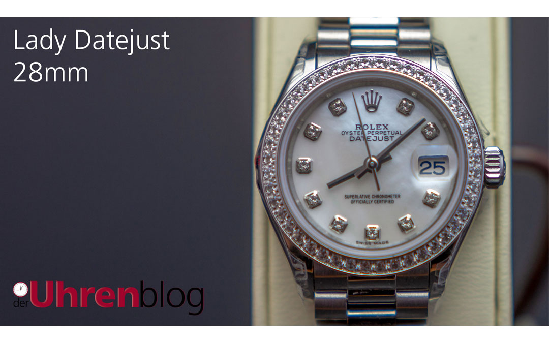 Rolex Lady Datejust 28mm mit Diamond Bezel